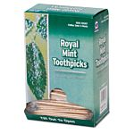 AmerCareRoyal® Cello-Wrapped Round Wood Toothpicks