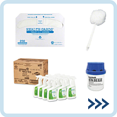 Restroom Cleaners & Accessories